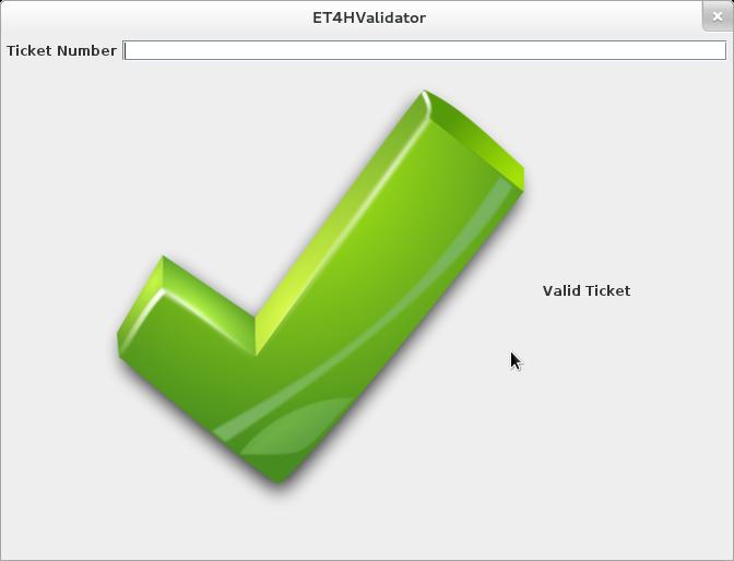 Capture ET4H validator